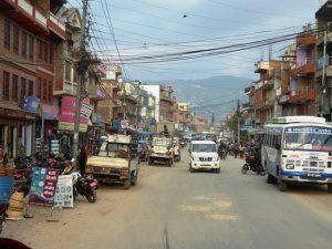 Leaving Bhaktapur