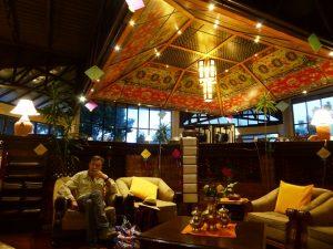 Our hotel at Nagarkot