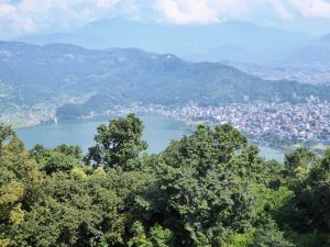 View of Lake Phewa, Pokhara