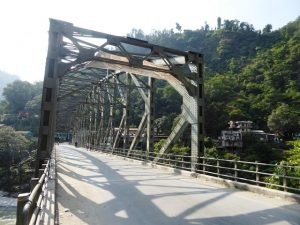 Bridge across the Kaligandaki river