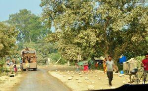 Roadworks Nepal-style