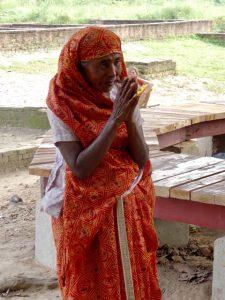 Woman at Kapilvastu