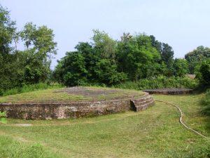 Twin Stupas to Buddha's parents