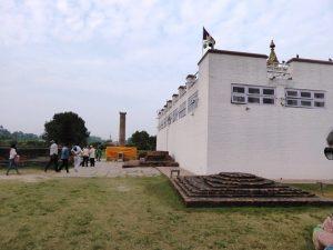 Buddha's Birthplace and Asoka's column, Lumbini