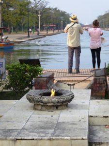 Eternal Flame, Lumbini