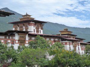 The spectacular Punakha Dzong