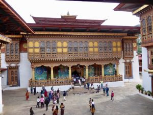 Second courtyard - main temple