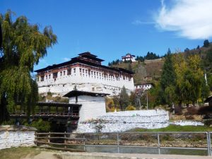 Paro Dzong and watch tower