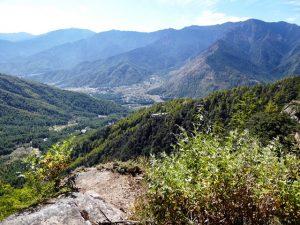 Down to Paro Valley