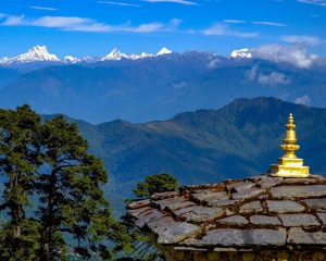 The shy Eastern Himalayan Peaks show themselves for us