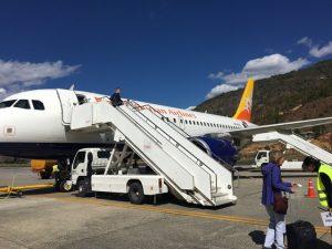 Finally boarding