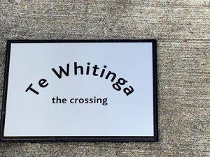 Te Whitinga - the crossing
