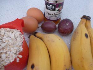 Banana Passionfruit & Oats