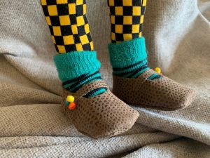 Child-like feet