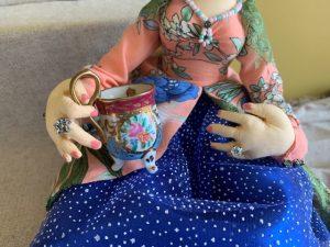 Miniature tea cup