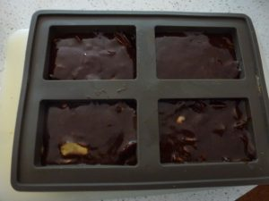 Leave to set in moulds