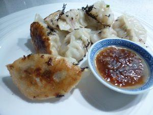 Pork cabbage chive dumplings