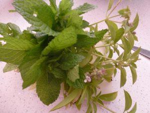 1 cup chopped herbs