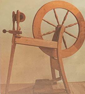 First spinning wheel