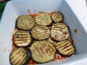Then eggplant and repeat
