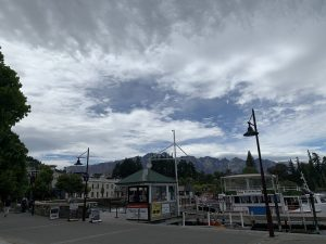 Cloud formations over The Remarkables