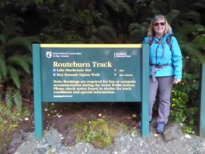 Starting the Routeburn Track