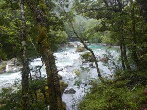 Walking through the gorge