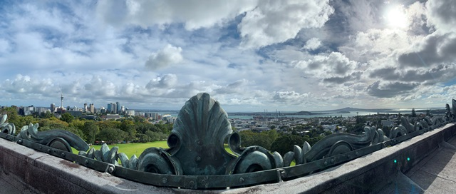 Auckland City from Museum Rooftop