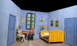 Dominique and I in Van Gogh's bedroom