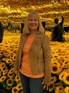 In the sunflower room