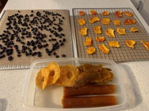 My dried fruits