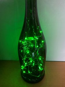 Bottled glow-worms