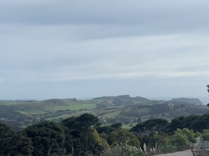 View over Waiheke from the Batch