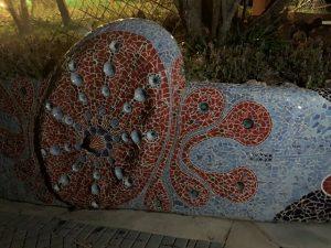 Gaudi-inspired mosaics
