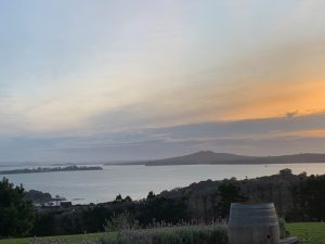 Evening views of Auckland Harbour