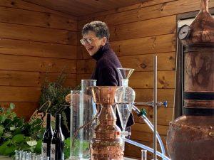 Jill Mulvaney at the Distillation Workshop